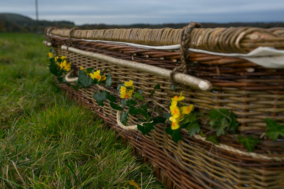 Wicker Coffins from Natural English Willow | Eco Friendly Caskets