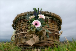 Caskets woven from Natural English Willow | Sussex Willow Coffins