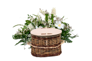 Wicker Cremation Ashes Urn